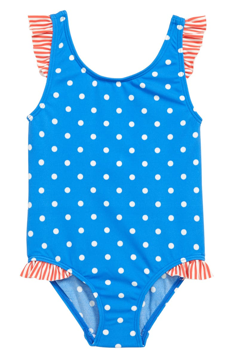 5fbcc8e1e6c44 Mini Boden Hotchpotch One-Piece Swimsuit (Toddler Girls, Little ...