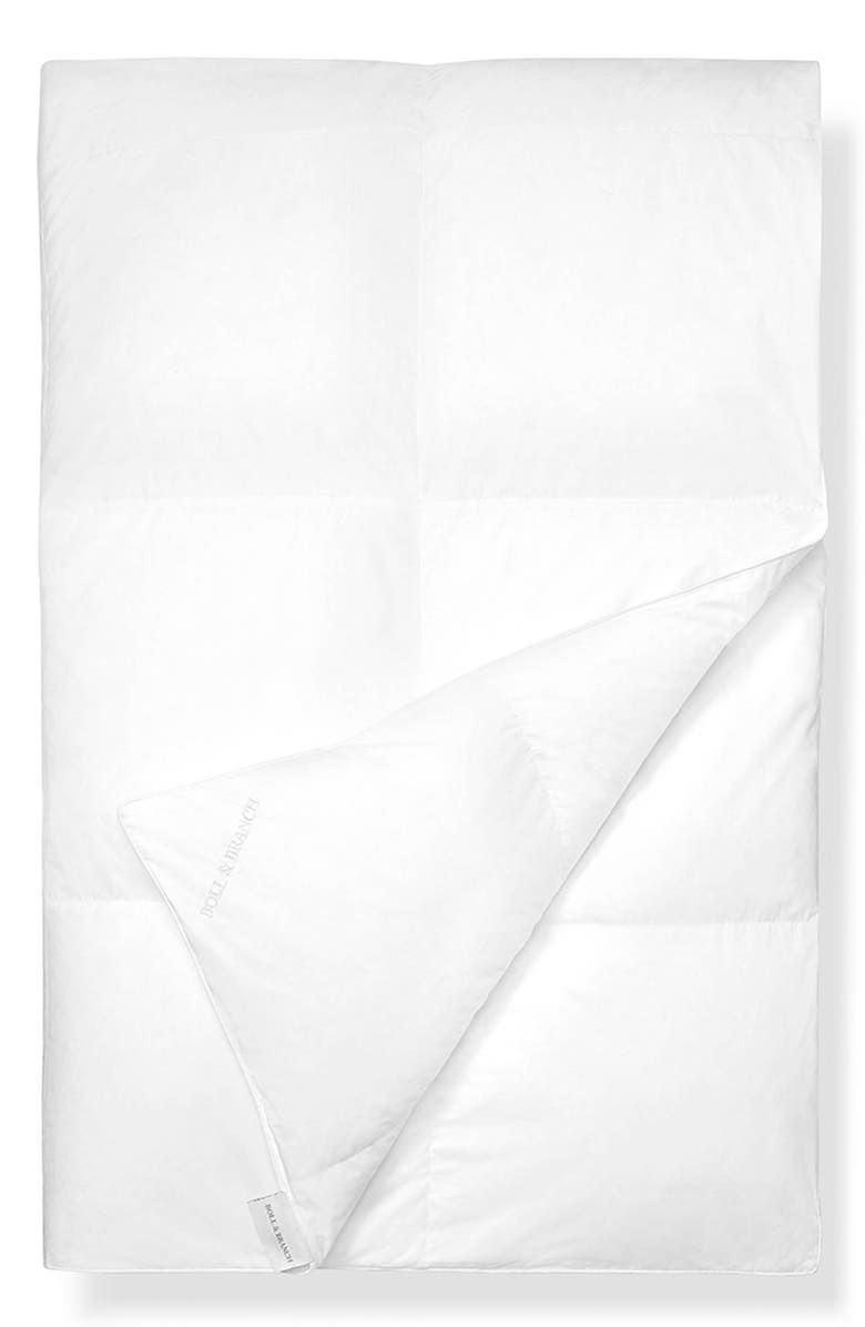 BOLL & BRANCH Primaloft Duvet Insert, Main, color, WHITE