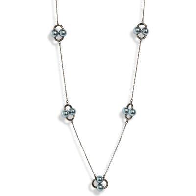 Kate Spade New York Nouveau Pearls Imitation Pearl Station Necklace