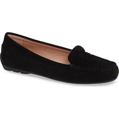 Taryn Rose Karen Water Resistant Driving Loafer- Black