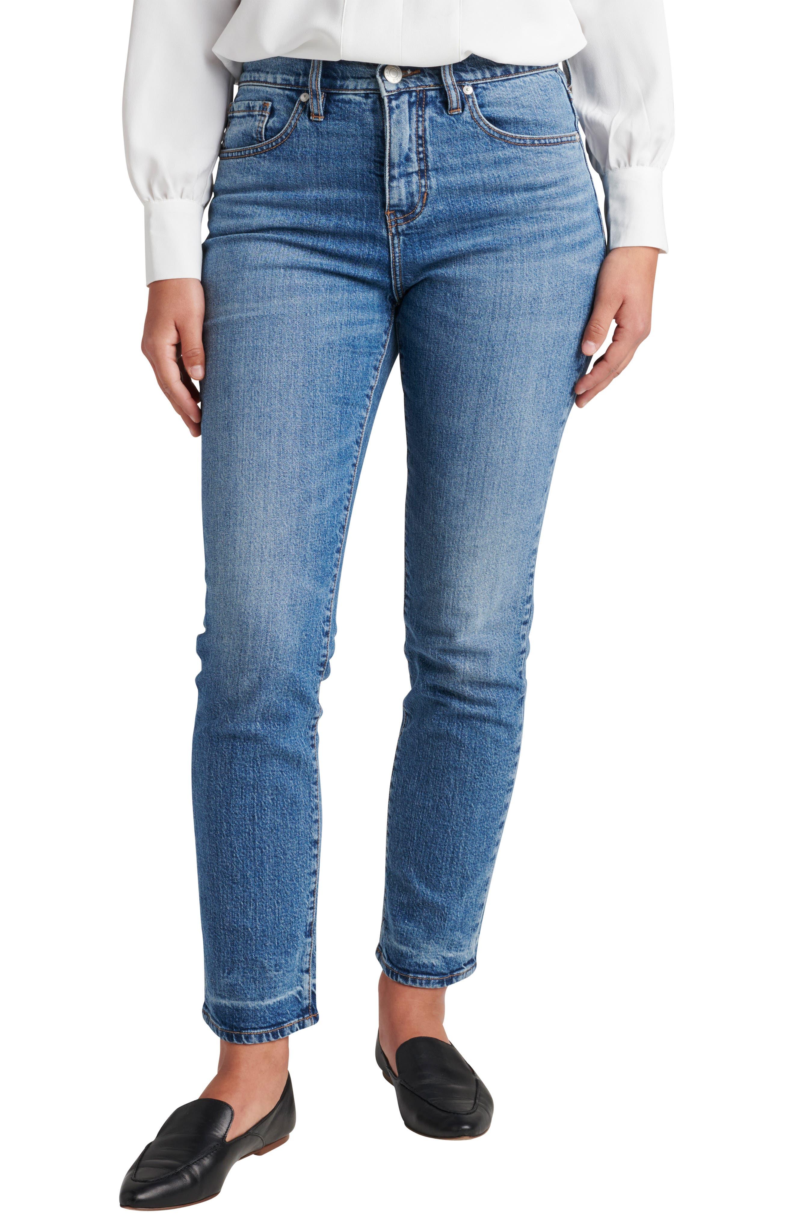 Stella High Waist Straight Leg Jeans
