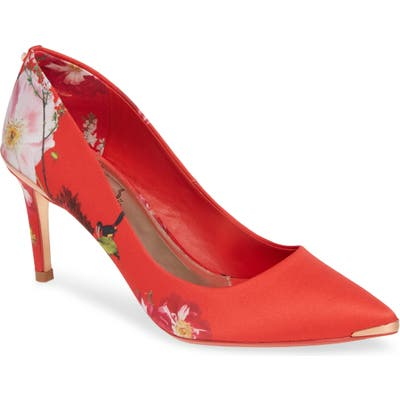 Ted Baker London Wishiri Pump - Red