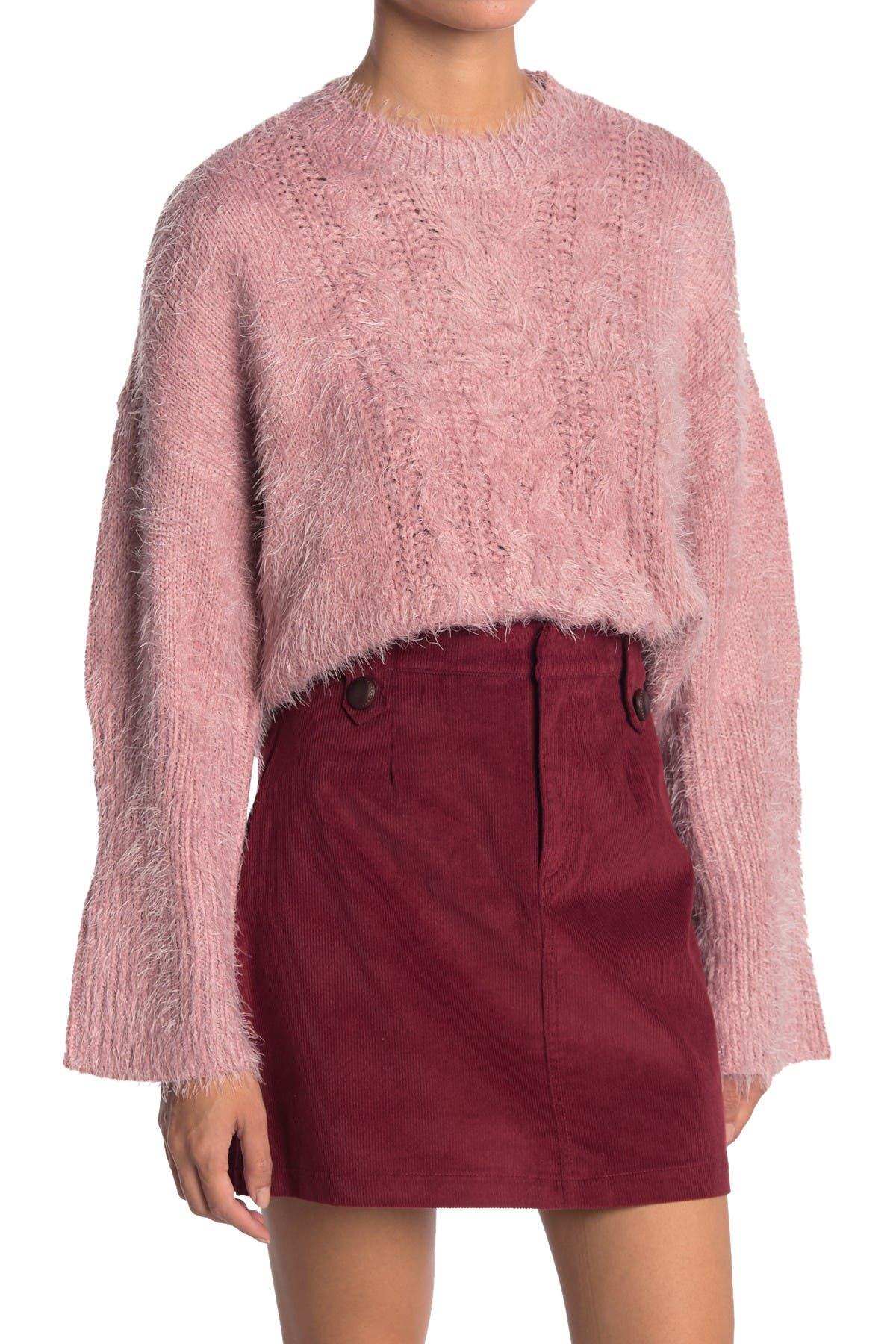 Image of BB Dakota Feelin Lashy Eyelash Knit Sweater