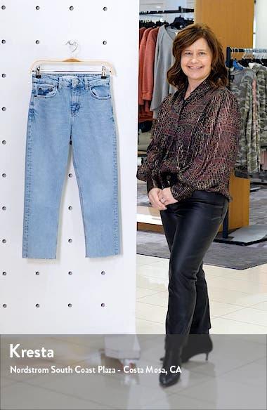 Bleach Straight Leg Jeans, sales video thumbnail
