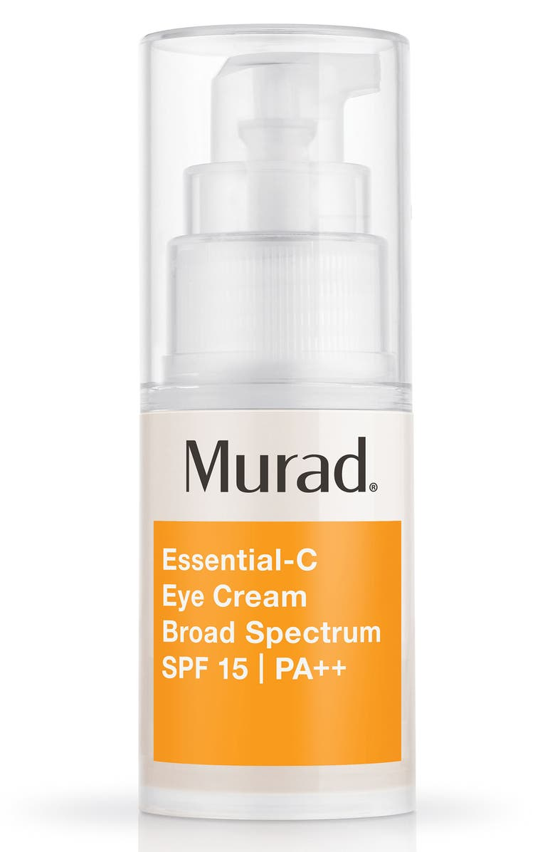 MURAD<SUP>®</SUP> Essential-C Eye Cream Broad Spectrum SPF 15 PA+++, Main, color, NO COLOR