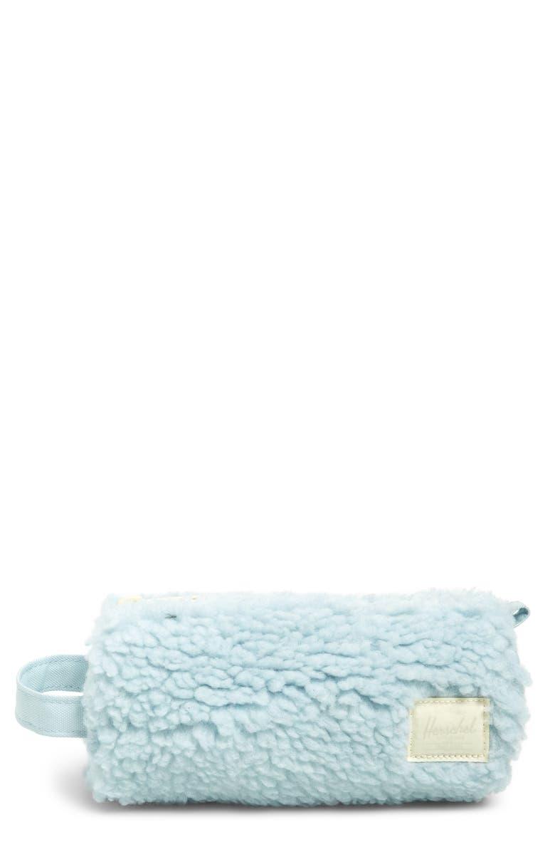 HERSCHEL SUPPLY CO. Settlement Fleece Case, Main, color, BABY BLUE