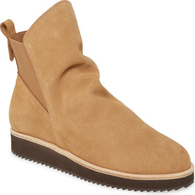 Patricia Green Charlee Wedge Bootie, Brown