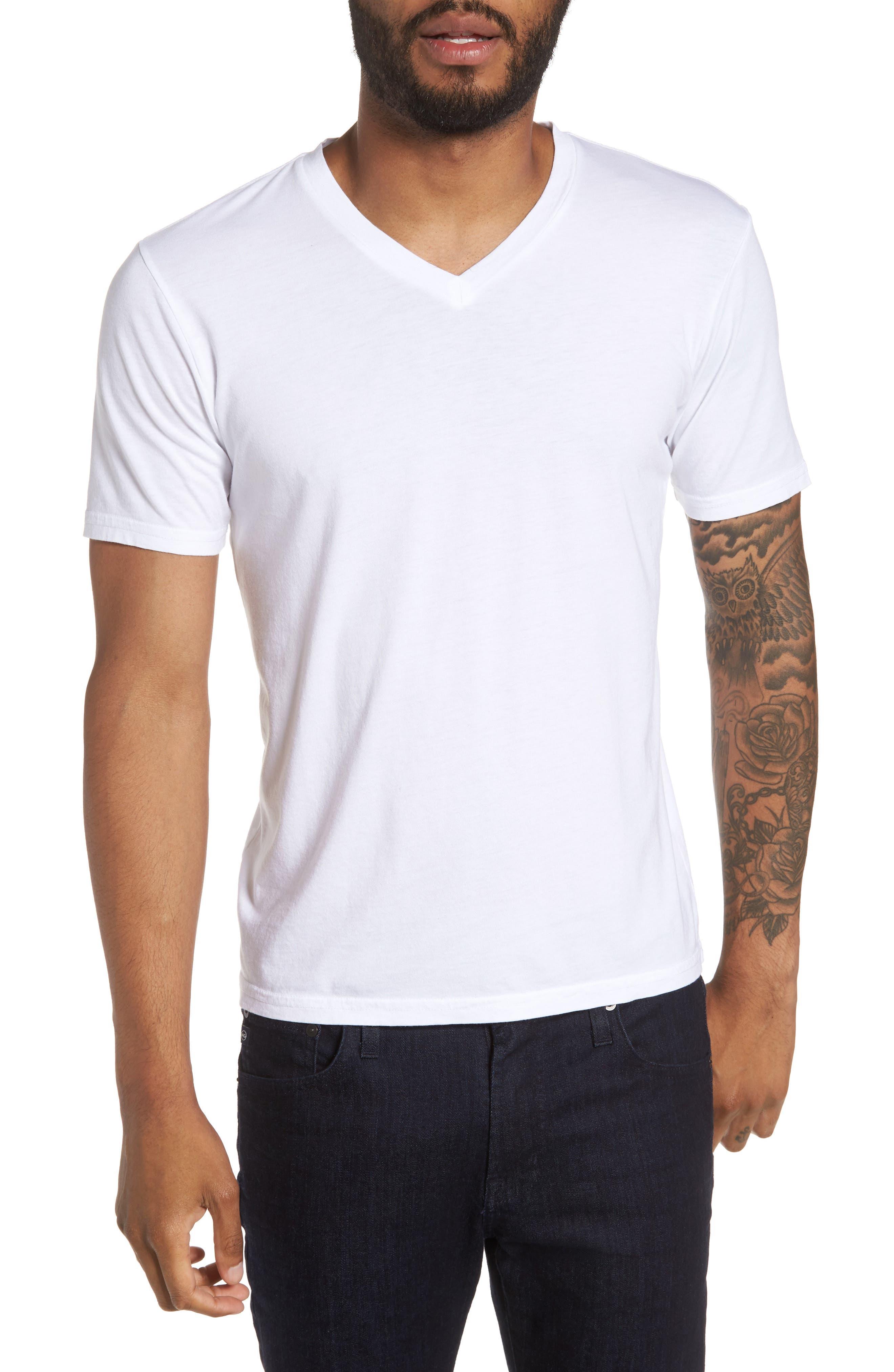 Classic Supima Blend V-Neck T-Shirt