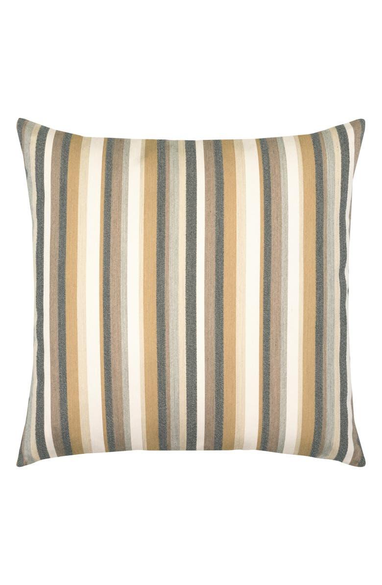ELAINE SMITH Moda Stripe Dune Indoor/Outdoor Accent Pillow, Main, color, GOLD MULTI