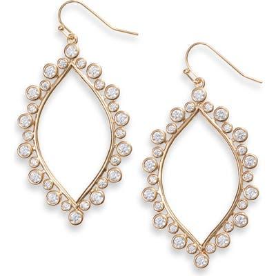 Asha Berry Marquise Drop Earrings