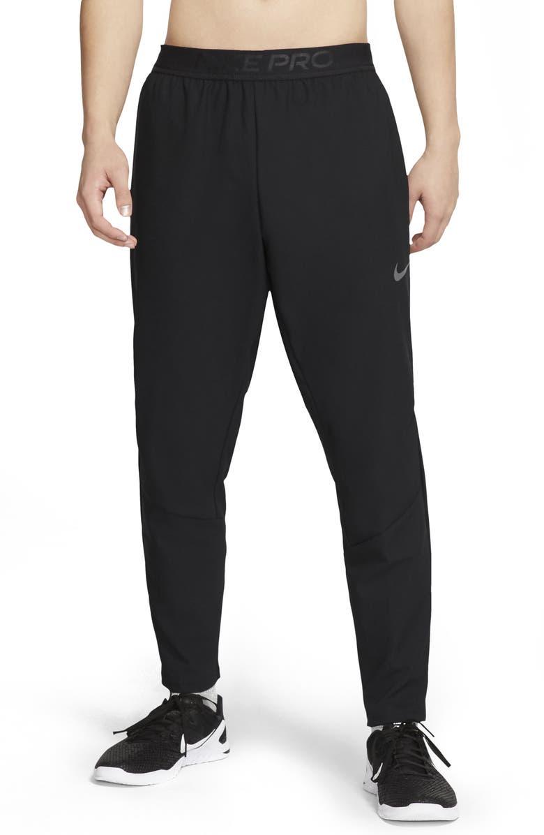 NIKE Men's Flex 2.0 Plus Pocket Training Pants, Main, color, BLACK/ DARK GREY