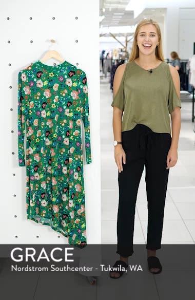 Floral Chuck On Midi Dress, sales video thumbnail