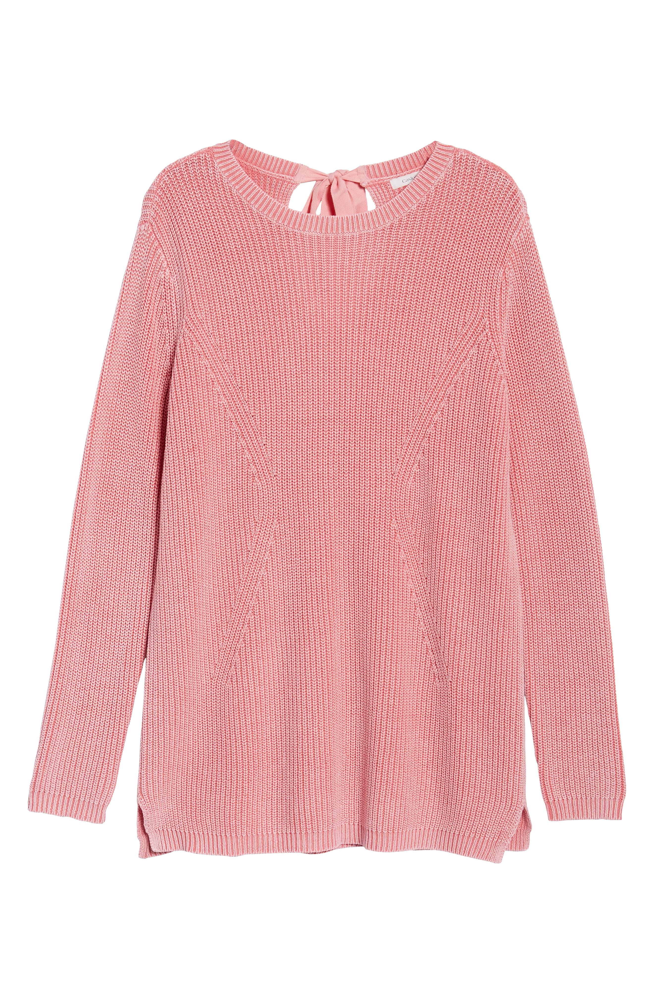 ,                             Tie Back Tunic Sweater,                             Alternate thumbnail 60, color,                             680
