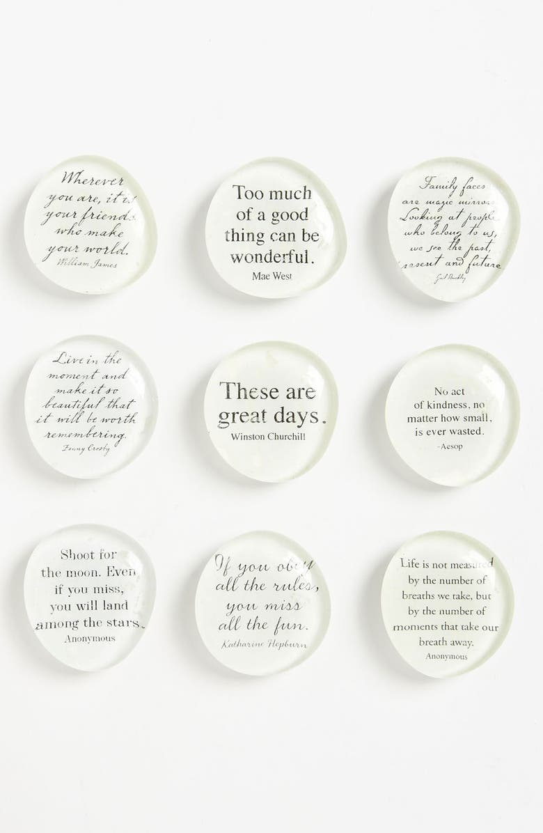 BEN'S GARDEN 'Script Quote' Superstrong<sup>™</sup> Magnets, Main, color, 960