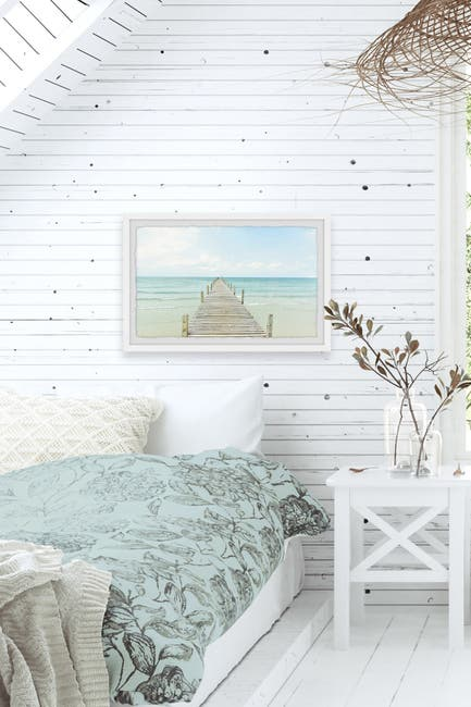 Image of Marmont Hill Inc. Bright Ocean's View Wall Art