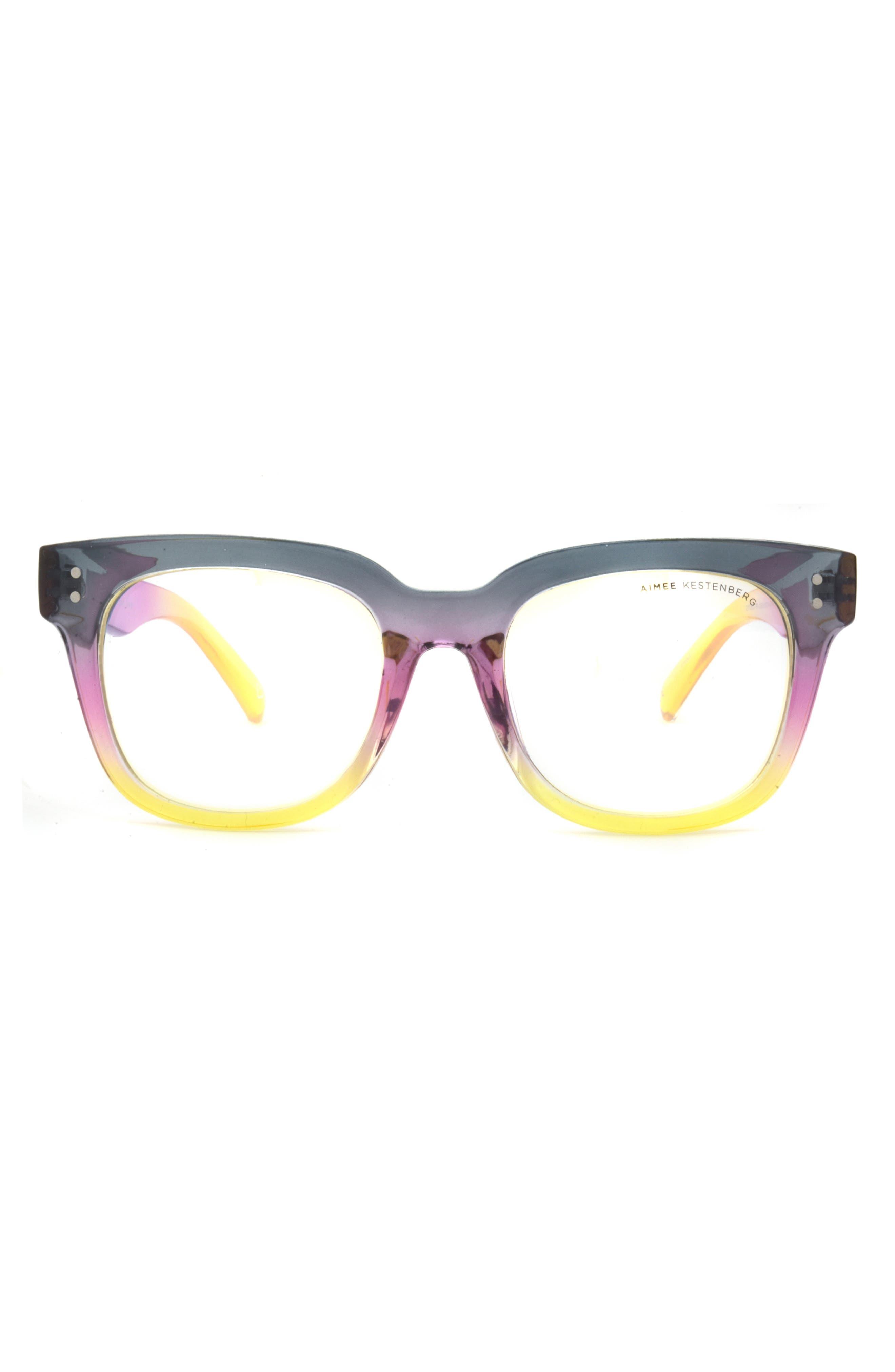 Houston 52mm Square Blue Light Blocking Glasses
