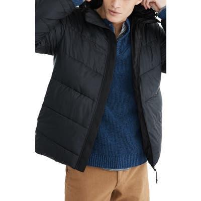 Madewell Packable Puffer Jacket, Black