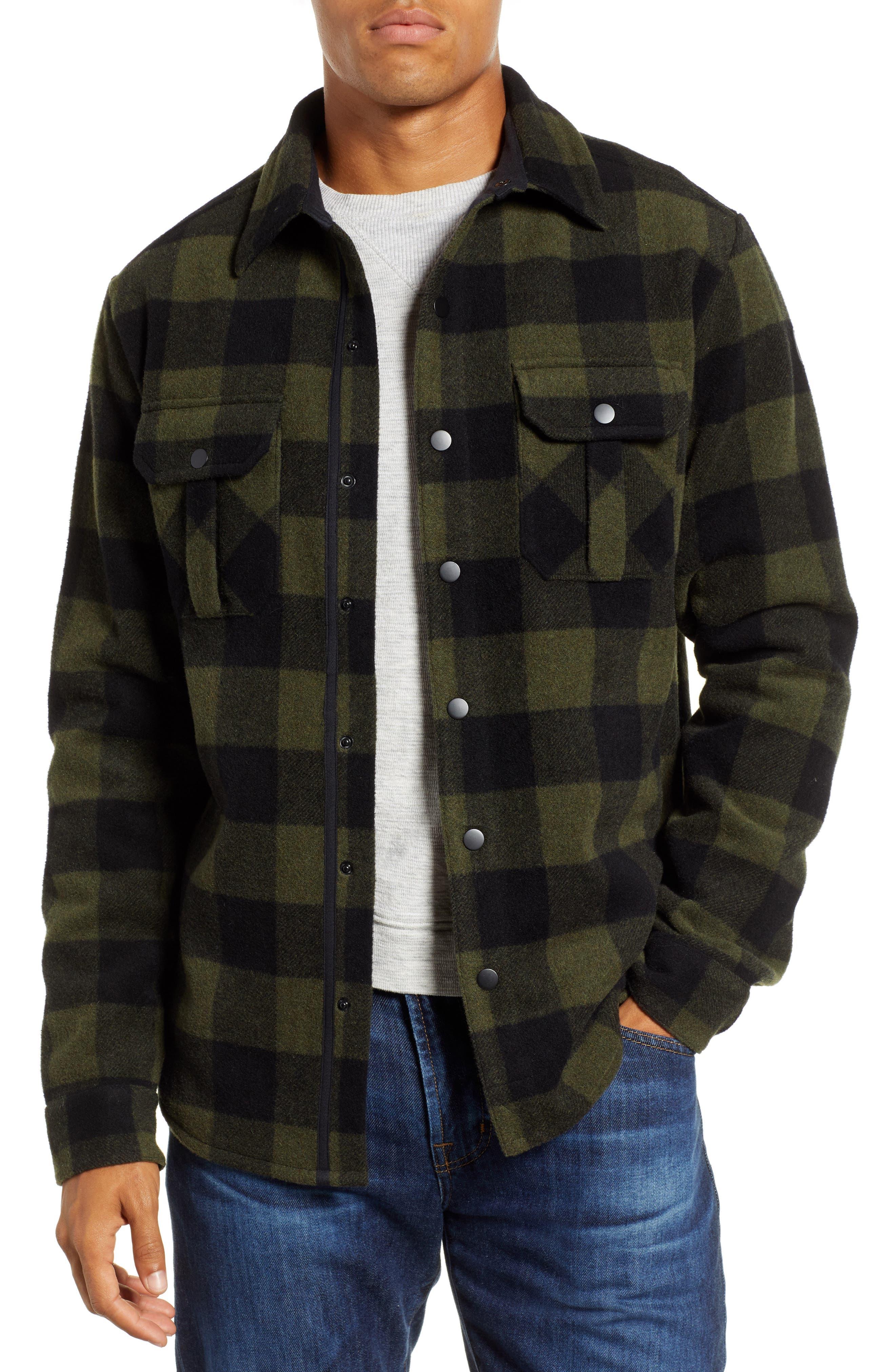 Smartwool Anchor Line Flannel Shirt Jacket