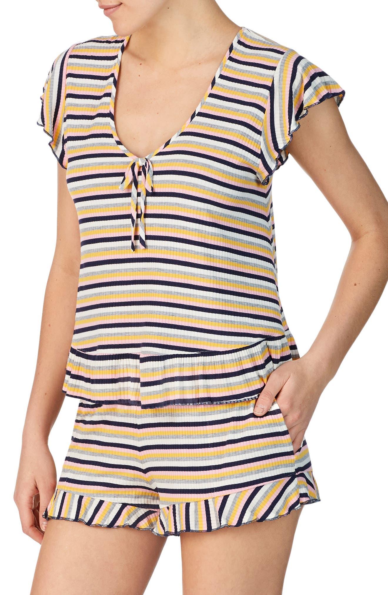 Room Service Ruffle Short Pajamas, Pink (Nordstrom Exclusive)