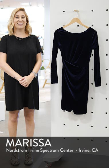Velvet Minidress, sales video thumbnail