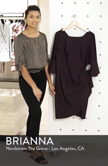 Bell Sleeve Sheath Dress, sales video thumbnail