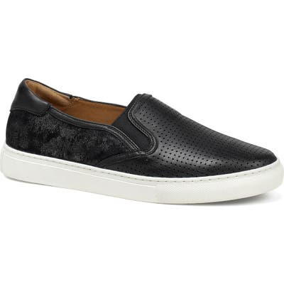 Trask Lillian Water Resistant Slip-On Sneaker- Black