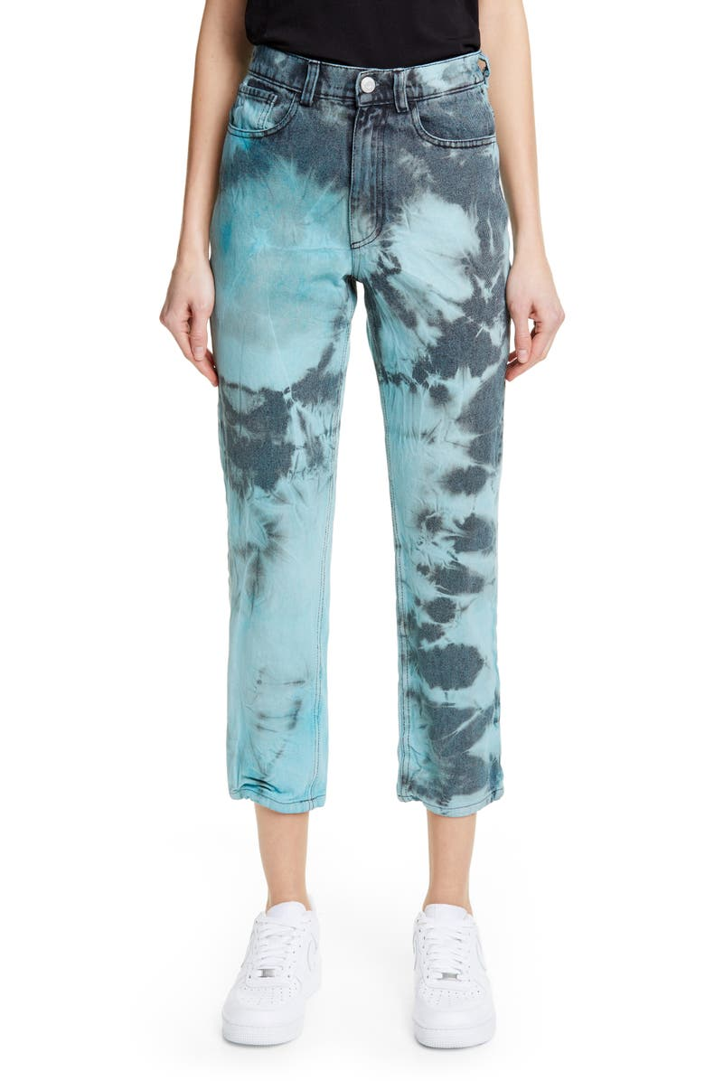 ASHLEY WILLIAMS Ashley Tie Dye Jeans, Main, color, 400