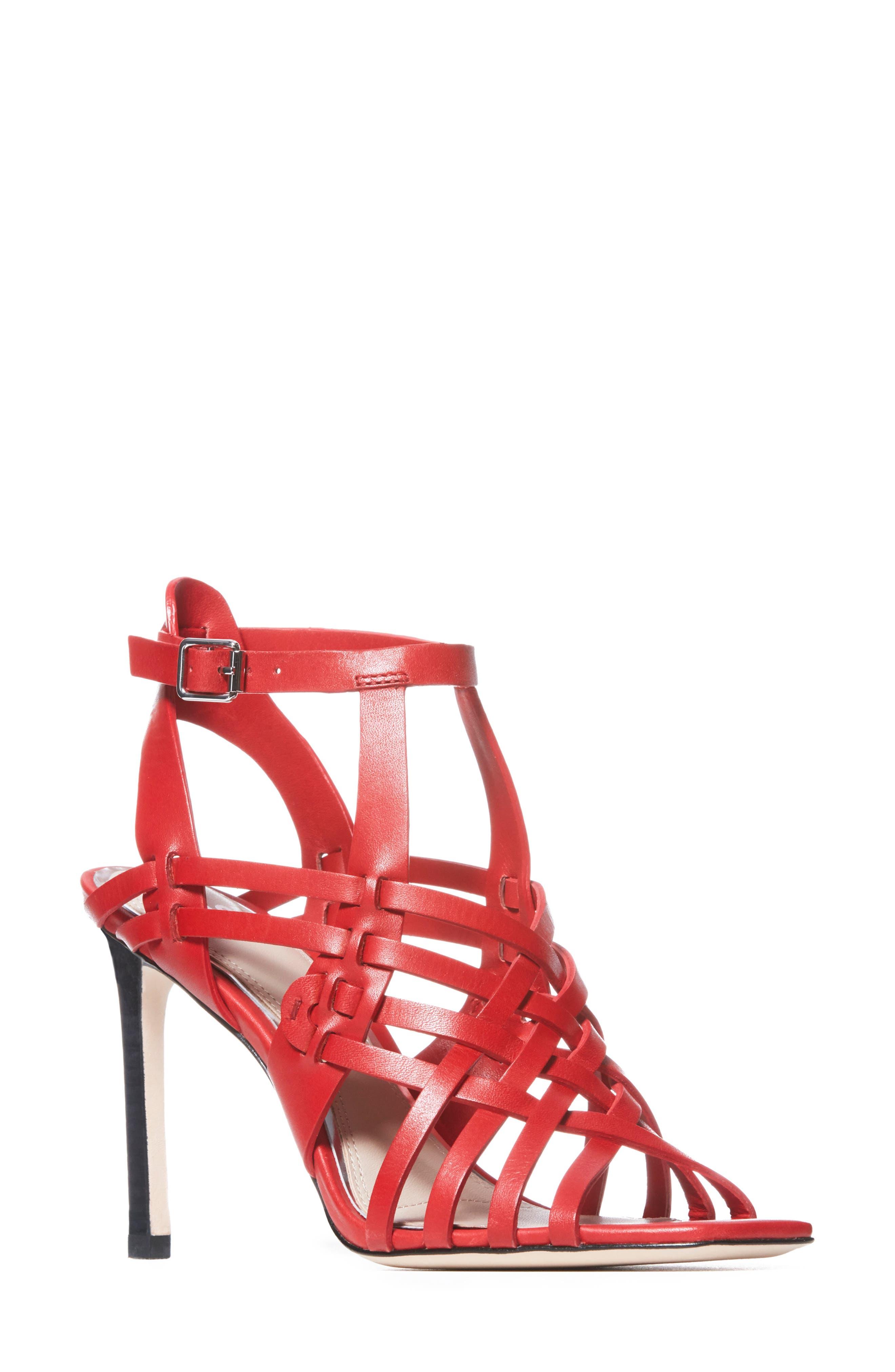 Image of PAIGE Verso Strappy Stiletto Heel Sandal