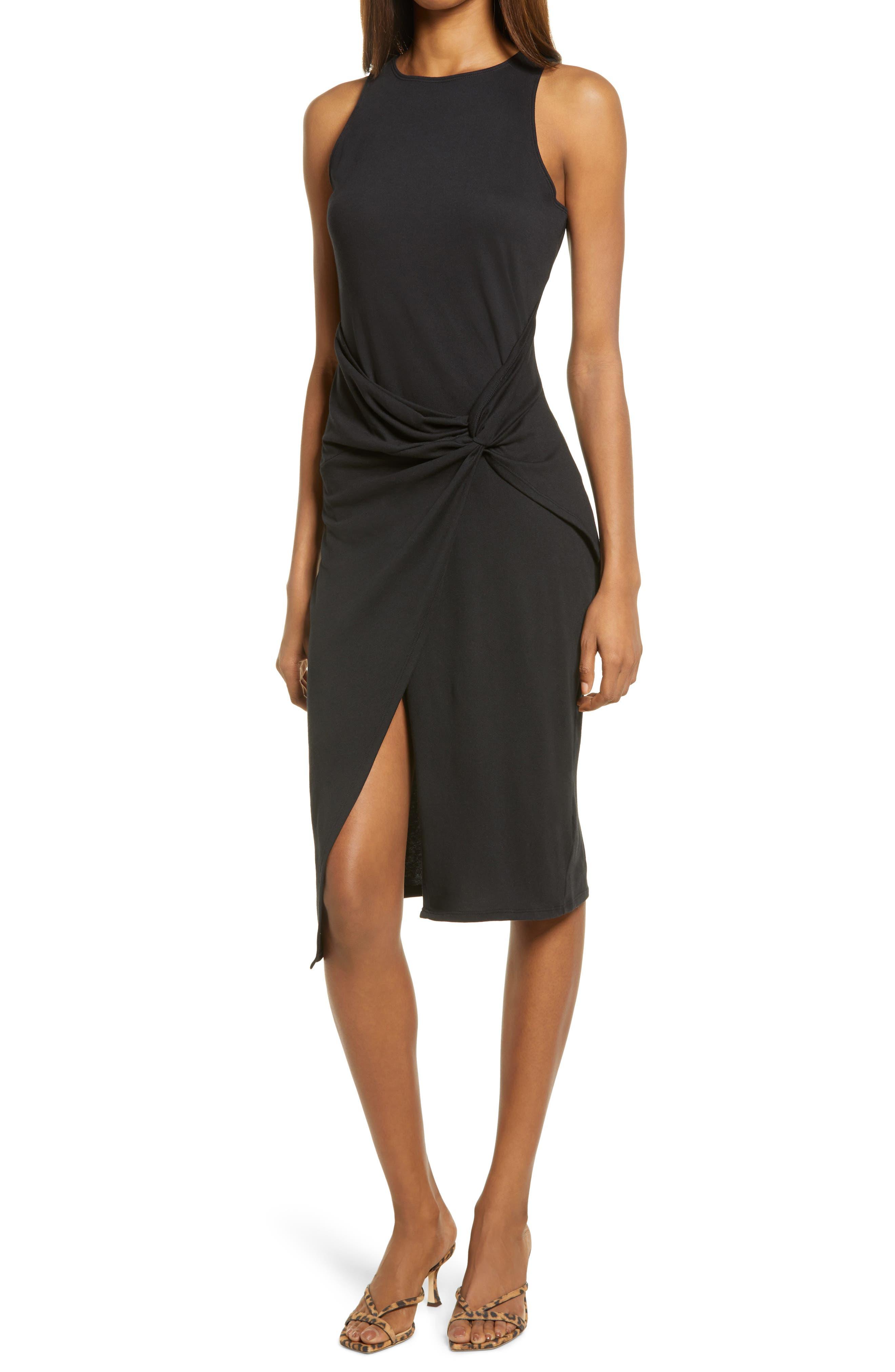 Image of Chelsea28 Twist Detail Mdi Dress