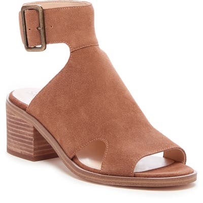 Sole Society Tally Ankle Cuff Sandal- Brown