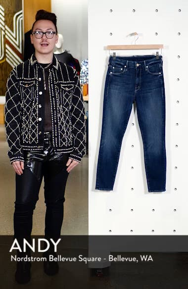 'The Looker' Crop Skinny Jeans, sales video thumbnail