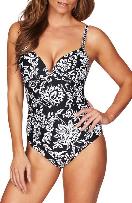 Image of SEA LEVEL Underwire One-Piece Swimsuit