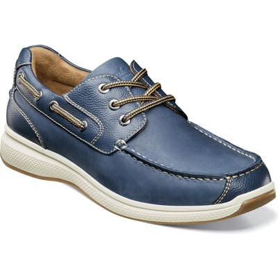 Florsheim Great Lakes Moc Toe Derby, EEE - Blue