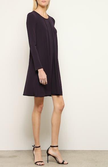 Long Sleeve Pleated Dress, video thumbnail