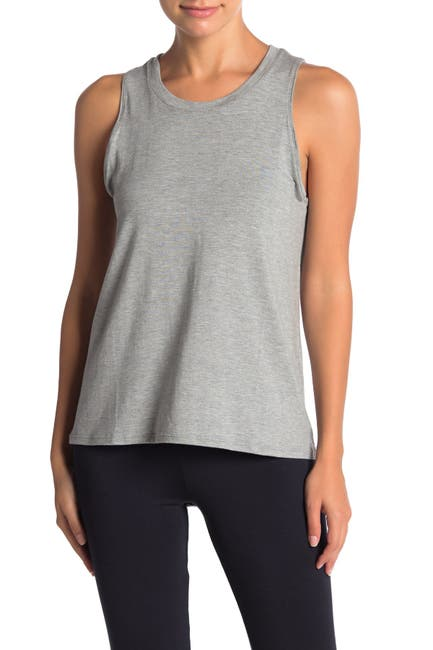 Image of French Connection Heather Flare Tank Top