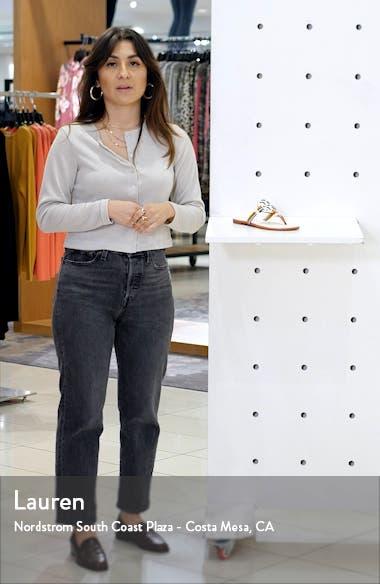 Mignon Miller Logo Sandal, sales video thumbnail