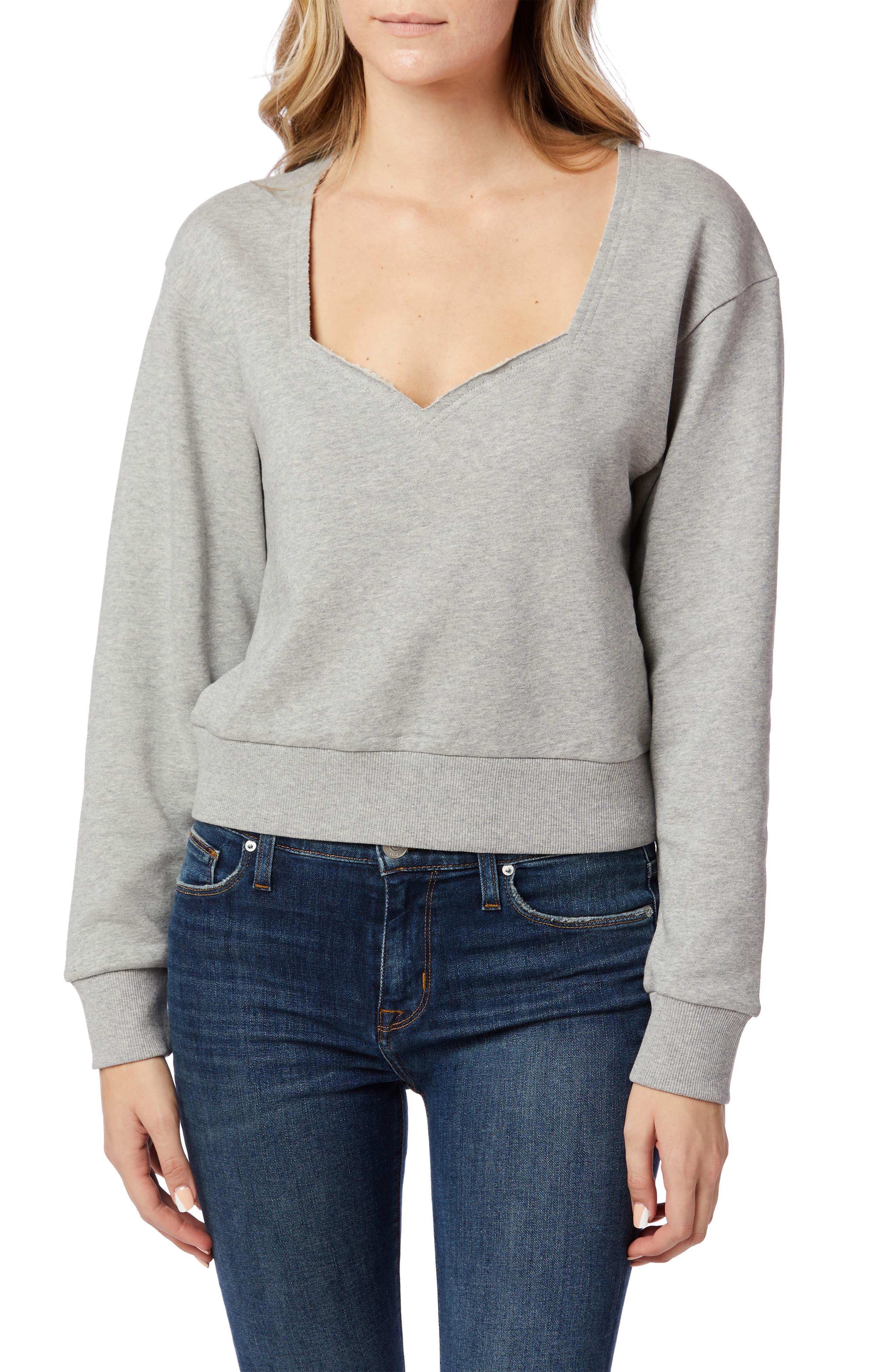 Sweetheart Heathered Sweatshirt