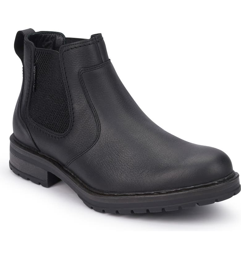MEPHISTO Lopez Chelsea Boot, Main, color, BLACK LEATHER