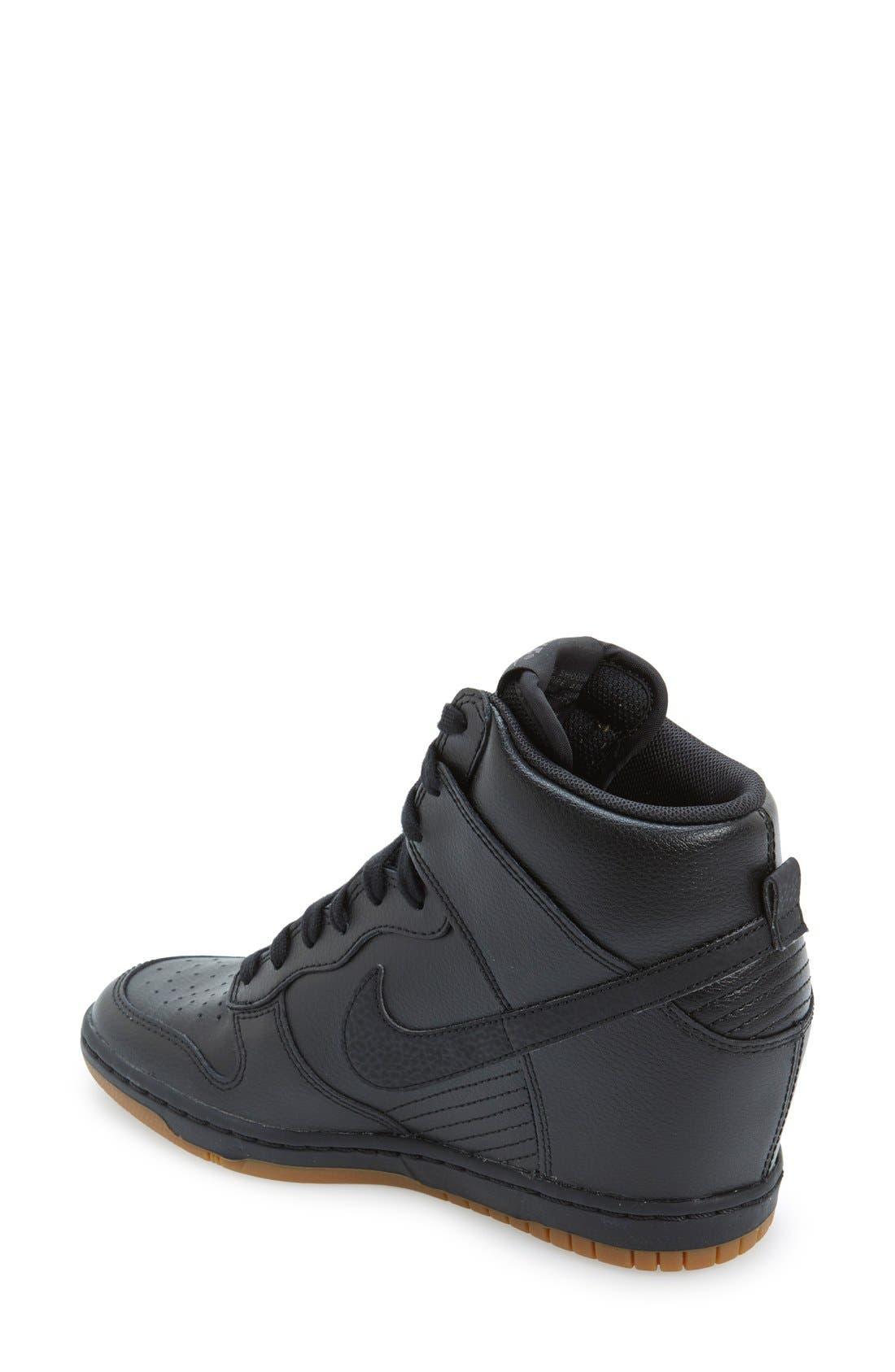 ,                             'Dunk Sky Hi - Essential' Wedge Sneaker,                             Alternate thumbnail 25, color,                             014