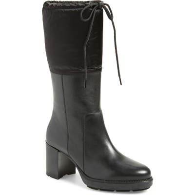 Aquatalia Ishana Weatherproof Boot- Black