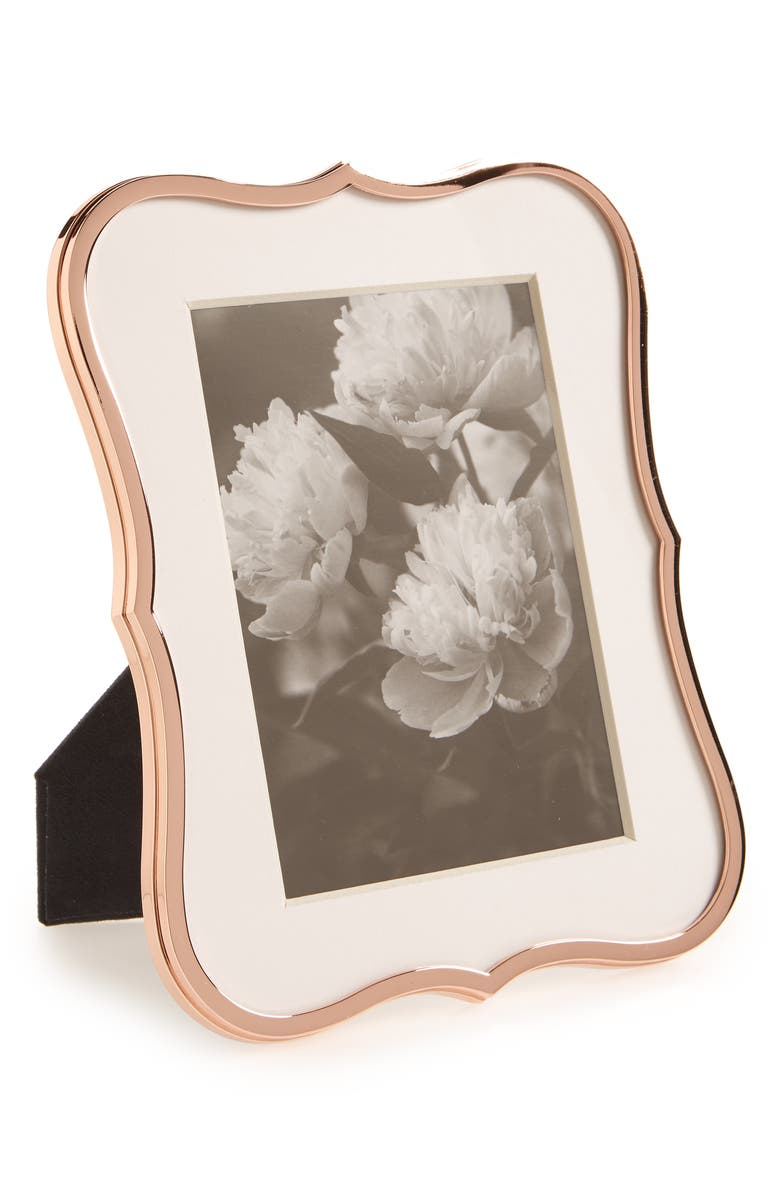 KATE SPADE NEW YORK crown point picture frame, Main, color, 220