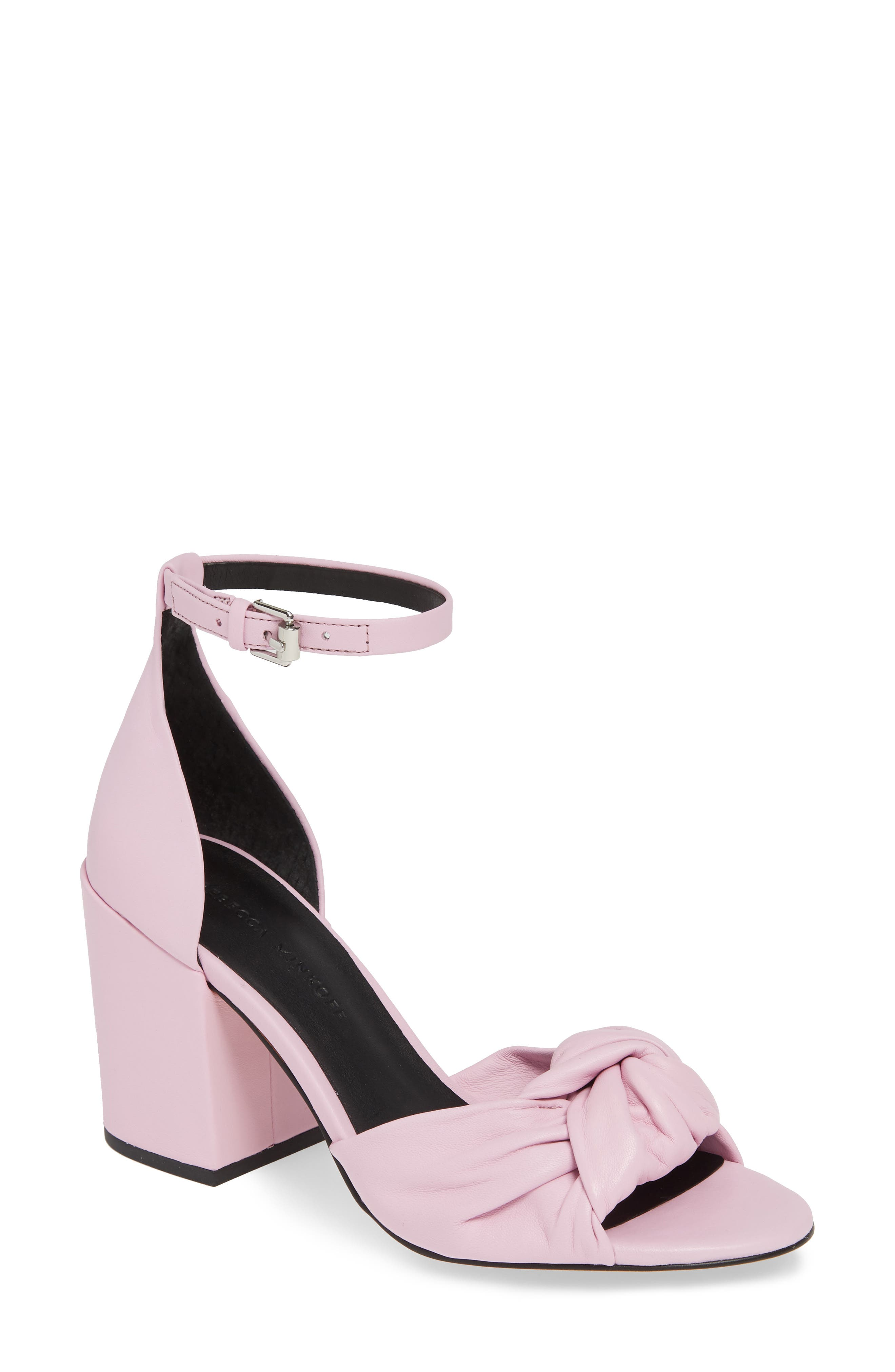 Rebecca Minkoff Capriana Ankle Strap Sandal, Pink