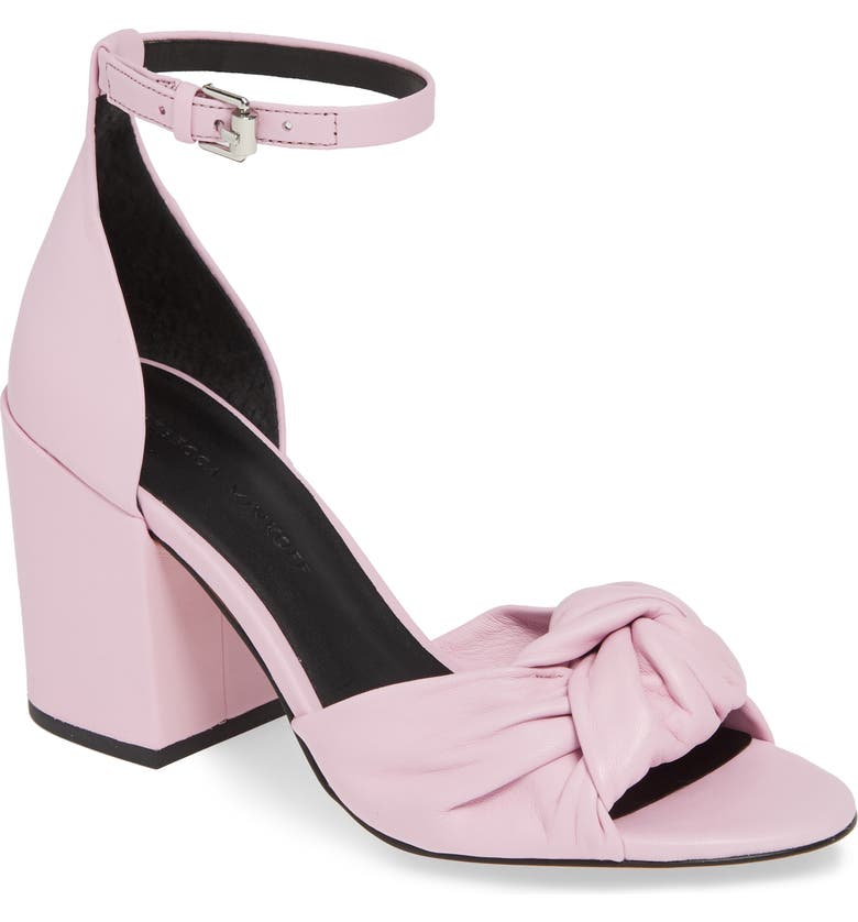 REBECCA MINKOFF Capriana Ankle Strap Sandal, Main, color, LIGHT ORCHID LEATHER
