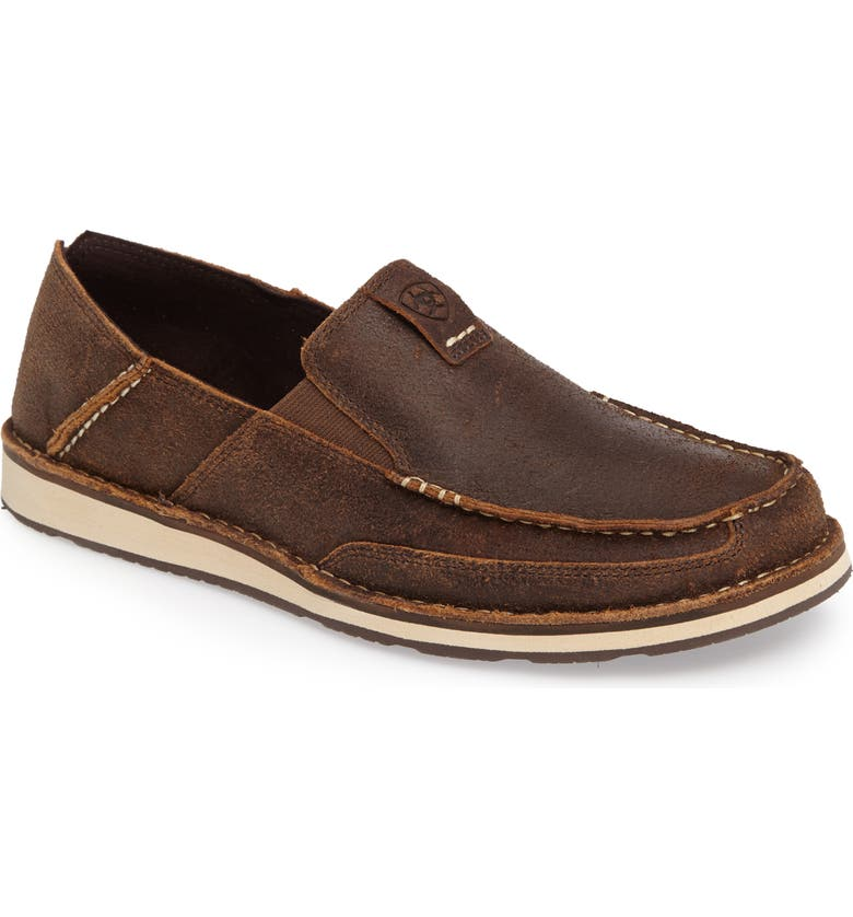 ARIAT Cruiser Slip-On, Main, color, ROUGH OAK