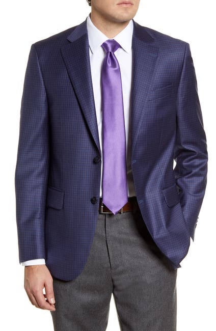 Image of Peter Millar Flynn Classic Fit Check Wool Sport Coat