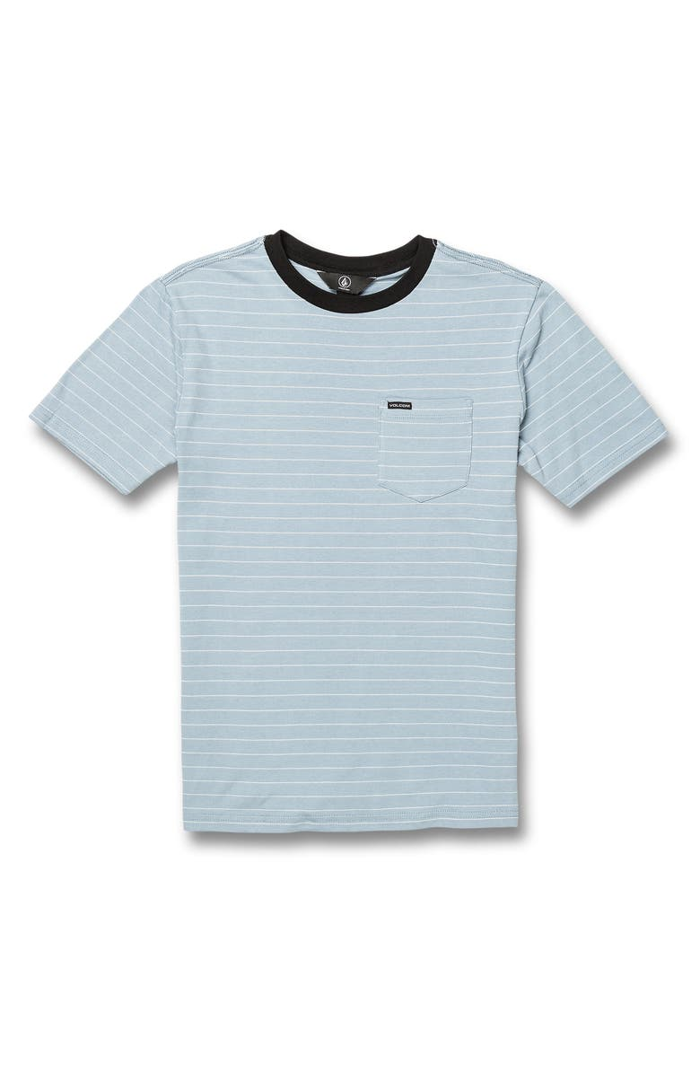 Volcom Storie Stripe Pocket T Shirt Big Boys