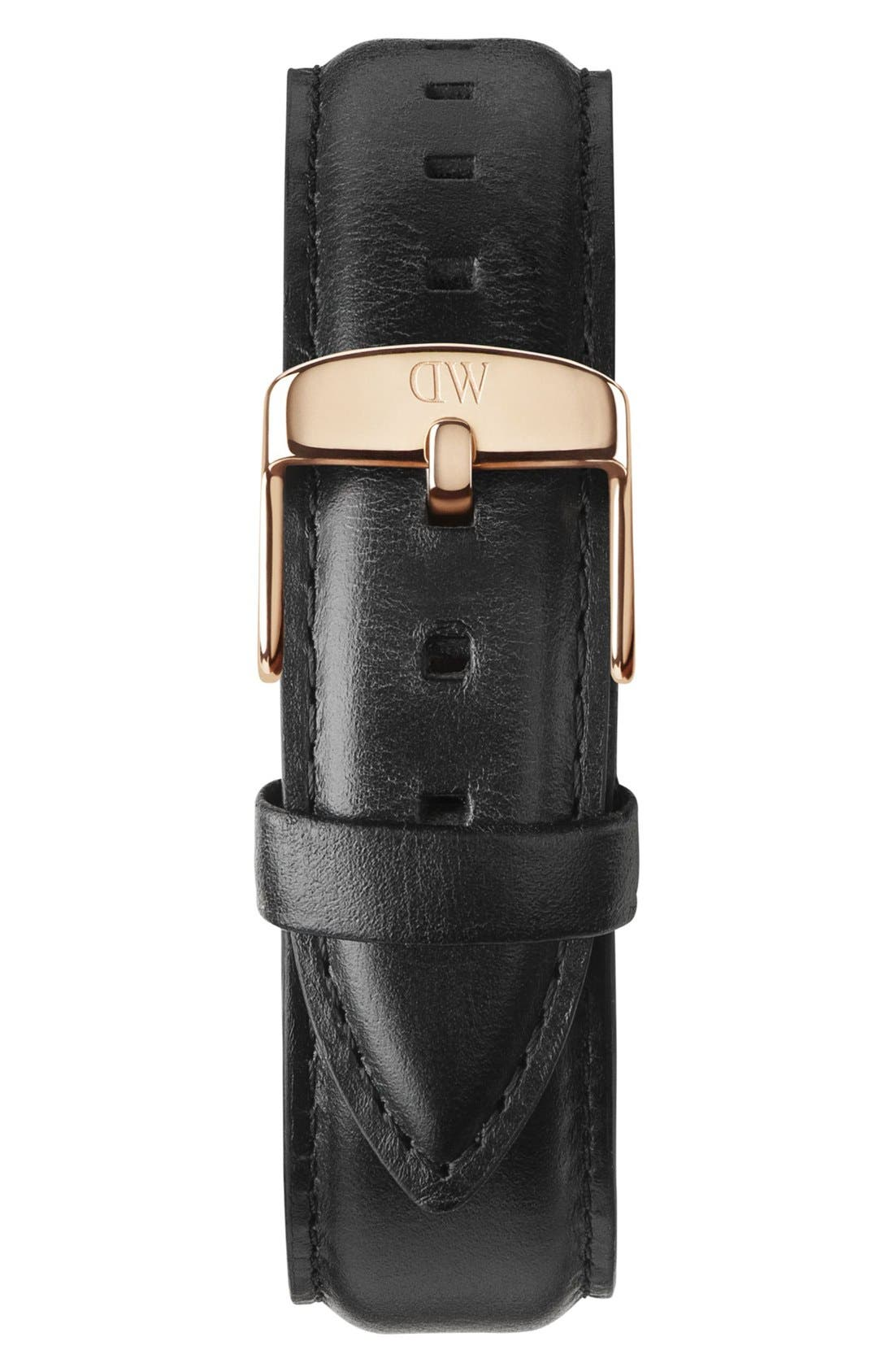 'Classic Sheffield' 20mm Leather Watch Strap