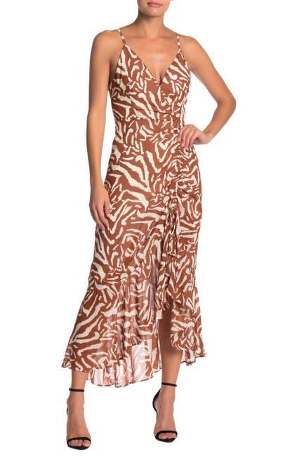 Image of OnTwelfth Tiger Print Maxi Dress