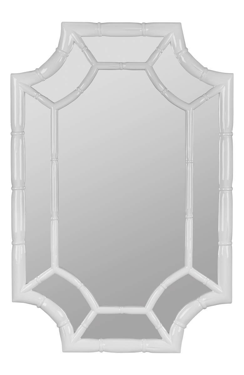 GEORGE AND CO Scalloped Wall Mirror, Main, color, 100