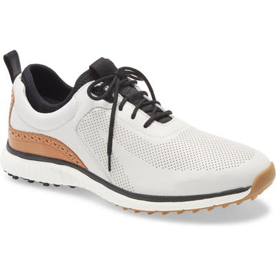 Johnston & Murphy H1 Luxe Hybrid Waterproof Sneaker- White